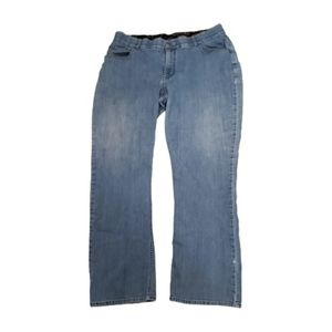 Lee mid rise boot cut jeans